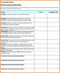 Event Planning Checklist Template Excel 10 Excel Checklist Template Resumes Word