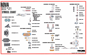 star trek blueprints u s nova nx sheet symbol chart wiring
