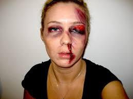Prisoner Halloween Makeup by Beat Up Makeup Youtube