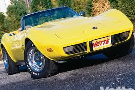 75 corvette value 1975 chevy corvette stingray magazine