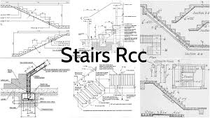 all the important details for stairs rcc u2013 architecture admirers