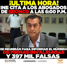 Memes De Los Broncos - samuel garcía ine cita a abogados de bronco hoy a las facebook