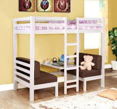 bunk bed with couch and desk medium size of full size loft bed