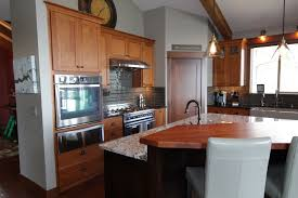 kitchen island panels affordable custom cabinets showroom