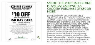 gas gift card deals expired publix 50 gas gift card for 40 with 50 grocery