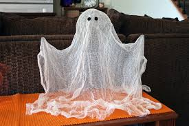 how to make a cheesecloth ghost cheese cloth holidays and house