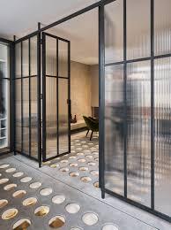 perf house features unique circular glass flooring bilgitorbasi