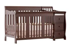 Sorelle Vicki 4 In 1 Convertible Crib by Baby Crib With Changing Table And Dresser Attached Home Design