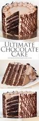 ultimate chocolate cake food and cake recipes cakes
