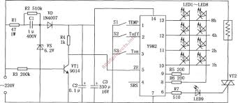 thermostat using lm56 u2013 electronic circuits and diagram