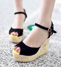 Platform Heels Comfort Girls Trendy Stylo Shoes Collection Designs Girls Stylish