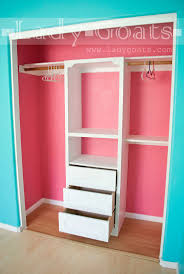 Discount Closet Organizers Best 25 Small Closets Ideas On Pinterest Small Closet Storage