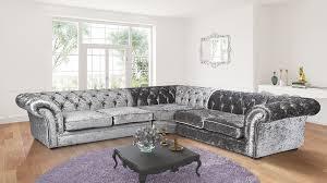 Chenille Chesterfield Sofa by Lovesofas Corner Sofas