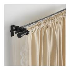 Thick Black Curtains Räcka Hugad Curtain Rod Combination Black Apt Ideas
