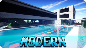 minecraft large modern house map with download youtube