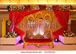 buy indian wedding decorations indian wedding decoration stock photo 474330343