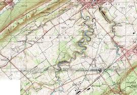 Fountain Valley Map Centre County Pennsylvania Township Maps