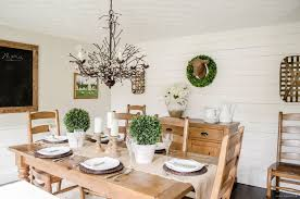 Farmhouse Dining Room Makeover - Dining room makeover