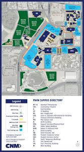 Scc Map Main Campus Map U2014 Central New Mexico Community College