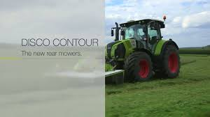 claas disco contour step by step 2014 en youtube