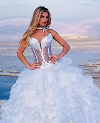 corset wedding dresses see through corset wedding dress