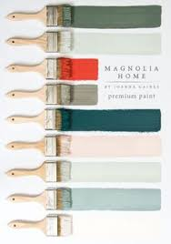this collection of magnolia home paint from designer joanna gaines