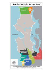 Seattle Washington Map by Seattle City Light Advanced Metering Project Overview