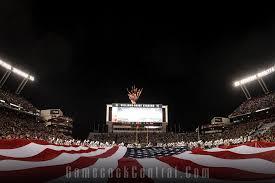 Gamecock Flag Williams Brice Stadium American Flag Fireworks