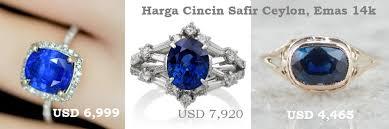 model cincin blue safir harga blue safir asli dari ceylon srilanka kualitas pilihan