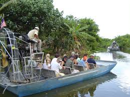 fan boat tours miami everglades airboat tour miami boat tour combo
