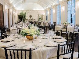 wedding reception planner copper and white dc wedding reception at dar daughters of the