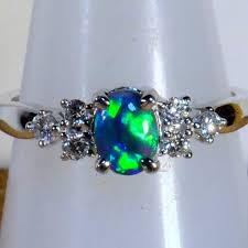 black opal engagement rings best 25 black opal ring ideas on australian black