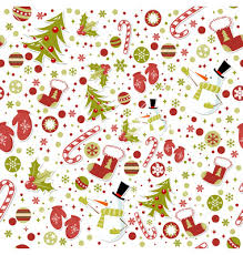 christmas patterns seamless pattern with christmas elements on vectorstock