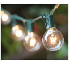 amazon com 100ft g40 globe string lights with bulbs ul listd