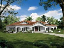 open air bathrooms spanish style house plans with courtyard