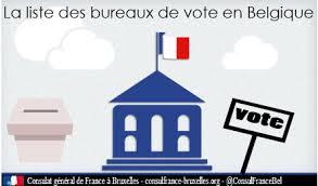 comment savoir dans quel bureau de vote on est inscrit bureaux de vote consulat général de à bruxelles