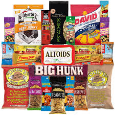 care package for sick person hangry kit essential kit sweet and salty snack care package