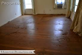 goodbye green carpet hello original hardwood floors