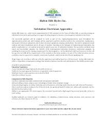 Cover Letter For Work Experience Electrician Apprentice Cover Letter Cover Latter Sample Pinterest
