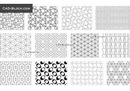 islamic pattern cad drawing seamless geometrical pattern cad block autocad pinterest