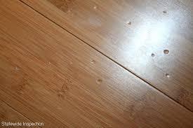 wood flooring high heel dents