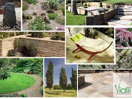 family garden design a sloping family garden vialii garden design