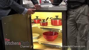 Corner Kitchen Cabinet Storage Ideas Blind Corner Kitchen Cabinet Ideas Shelfgenie Blind Corner Blind