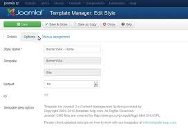 joomla 3 x how to change footer copyright message template
