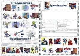 27 free esl superheroes worksheets