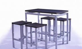table haute cuisine alinea table haute bar alinea best chaise bar alinea tabouret de bois