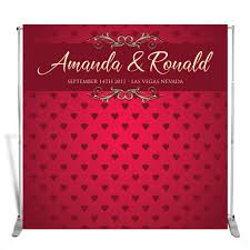 wedding custom backdrop birthday photo screen anniversary