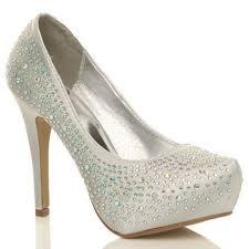 wedding shoes ebay diamante wedding shoes ebay