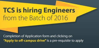 Best Website To Upload Resume by Tcs Hiring B Tech Engineers 2016 Batch Off Campus Recruitment