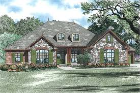 european cottage house plans european house plan 3 bedrms 3 5 baths 2618 sq ft 153 1878